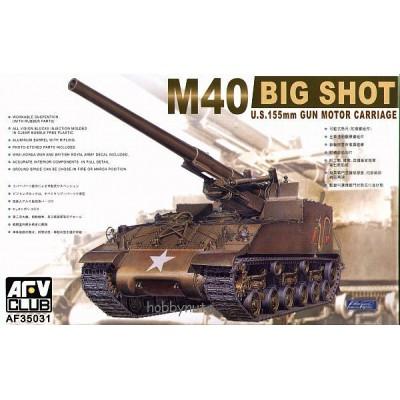 CAÑON AUTOPROPULSADO M-40 (155 mm) 1/35
