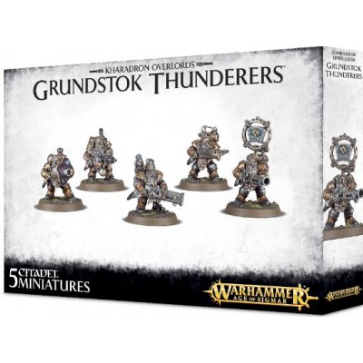 KHARADRONS OVERLORD GRUNDSTOK THUNDERERS - GAMES WORKSHOP 84-37