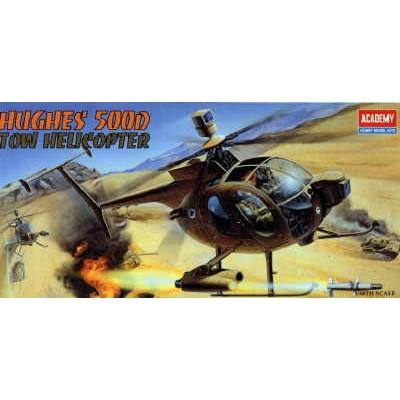 HUGHES 500 D TOW DEFENDER -Escala 1/48- Academy 12250