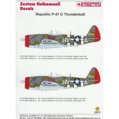CALCAS P-47 D THUNDERBOLT 1/32