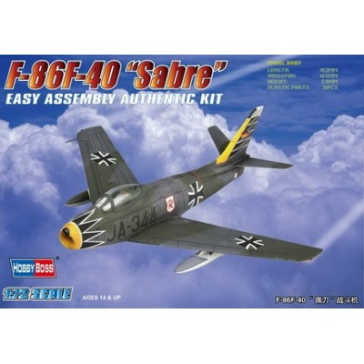 NORTH AMERICAN F-86 F-40 SABRE ESCALA 1/72 HOBBYBOSS 80259