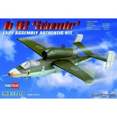 HEINKEL HE-162 SALAMANDER -1/72- Hobby Boss 80239