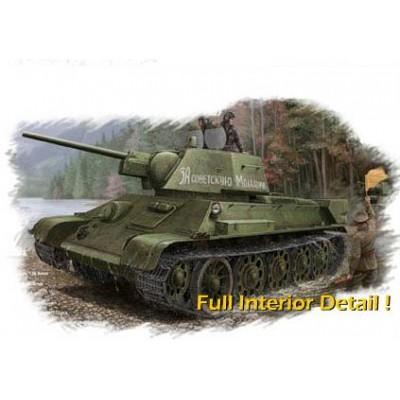 CARRO DE COMBATE T-34 /76 1.943 (con int