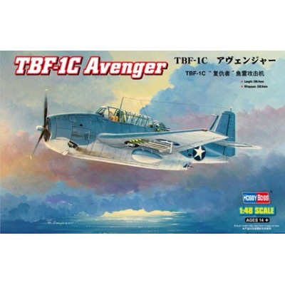 GRUMMAN TBF-1C AVENGER -Escala 1/48- Hobby Boss 80314