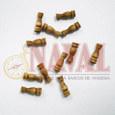 COLUMNA NOGAL 8 mm (12 unidades)