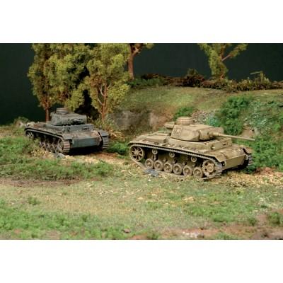 CARRO DE COMBATE SD.KFZ. 141 Ausf. J (2 unidades) MONTAJE RAPIDO