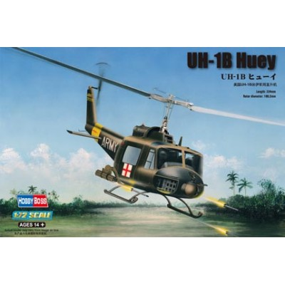 BELL UH-1B HUEY escala 1/72 hobbyboss 87228
