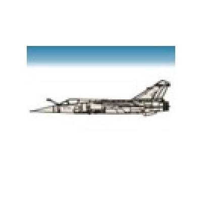 CALCAS MIRAGE F-1 ALA 11/14/ 462 Esc. 1/48 - Series Españolas SE548