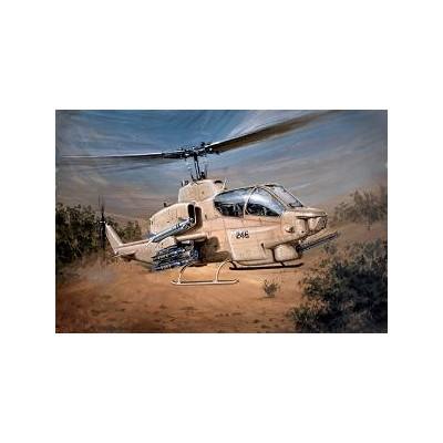 BELL AH-1 W SUPER COBRA escala 1/48 italeri 833