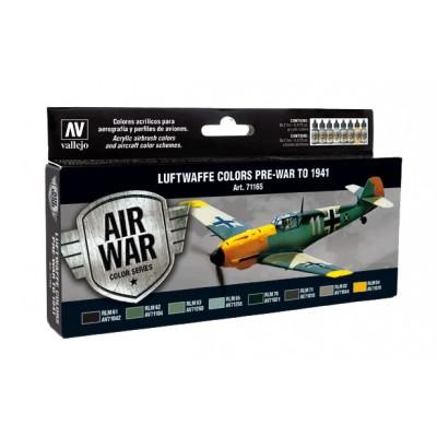 AIR WAR: COLORES LUFTWAFFE PRE-GUERRA - 1941 (8 botes)