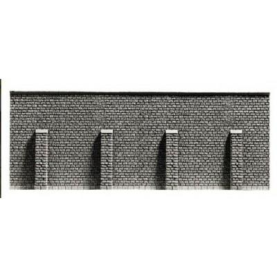 MURO CON CONTRAFUERTES (198x74mm) N