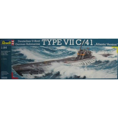 SUBMARINO TIPO VII C/41 ATLANTIC 1/144
