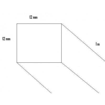 LISTON PINO (12 x 12 x 1.000mm)