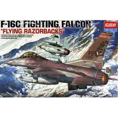 GENERAL DYNAMICS F-16 C FLYING RAZORBACKS - escala 1/48 - academy 12204