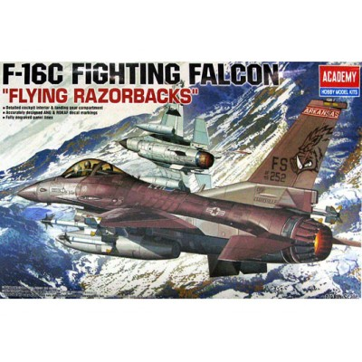 GENERAL DYNAMICS F-16 C FLYING RAZORBACKS