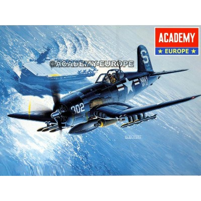 VOUGHT F4U-4B CORSAIR - escala 1/48 - academy 12267