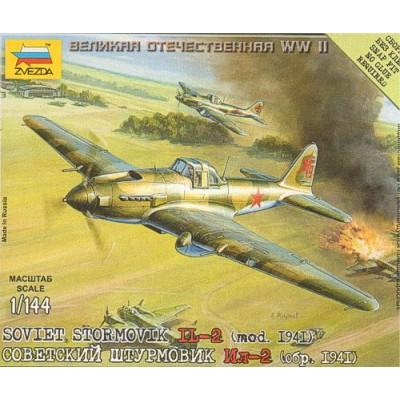 ILYUSHIN IL-2 Model 1941 -1/144- Zvezda 6125