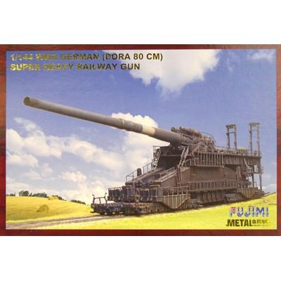 """CAÑON SOBRE RAIL """"DORA"""" (800 mm) -Escala 1/144- Soar Art Workshop MT-9511"""