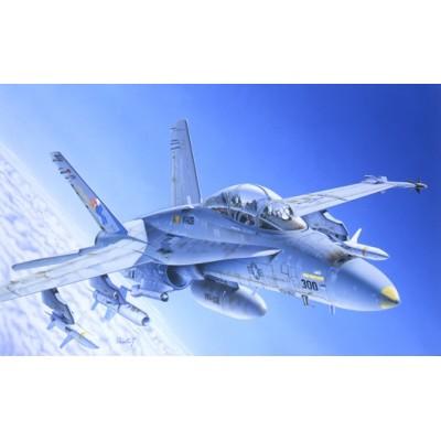 MCDONNELL DOUGLAS F/A-18 C/D HORNET - ESCALA 1/72 - ITALERI 016