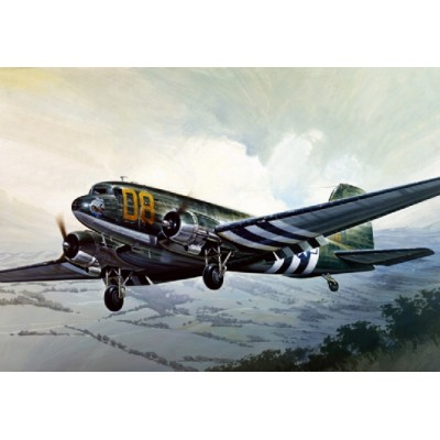 DOUGLAS C-47 SKYTRAIN / DAKOTA -Escala 1/72- Italeri 127