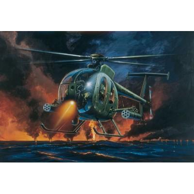 HUGHES AH-6 NIGHT FOX escala 1/72 italeri 017