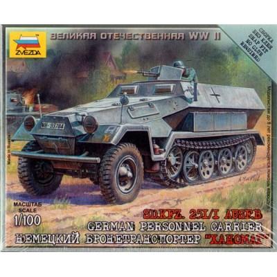 TRANSPORTE DE TROPAS SD.KFZ. 251 Ausf. B