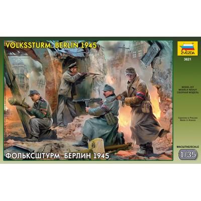 VOLKSSTURM (BERLIN 1945) -Escala 1/35- Zvezda 3621