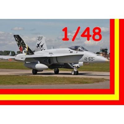 McDONNELL DOUGLAS EF/A-18 A HORNET ALA Nº12 (50 años, Torrejon) 1/48