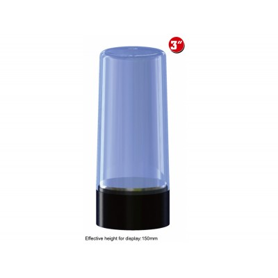 VITRINA CIRCULAR ROTATORIA PLASTICO (84 x 130 mm) - Trumpeter 09831
