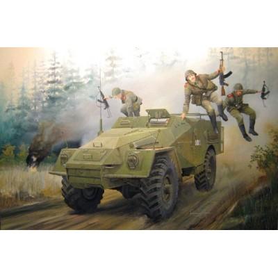 TRANSPORTE DE TROPAS BTR-40 - Escala 1/35 - TRUMPETER 05517