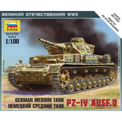 CARRO DE COMBATE SD.KFZ. 161 PANZER IV Ausf. D