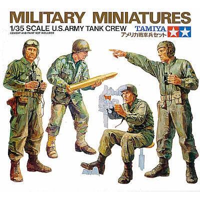 TRIPULACION DE CARRO U.S. ARMY -Escala 1/35- Tamiya 35004