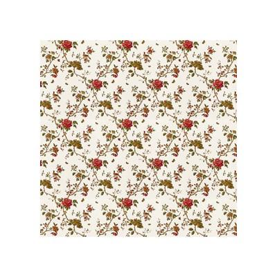 PAPEL PARED ROSAS (300 x 470 mm)