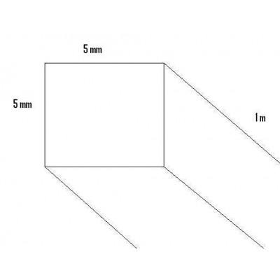 LISTON PINO (5 x 5 x 1.000mm)
