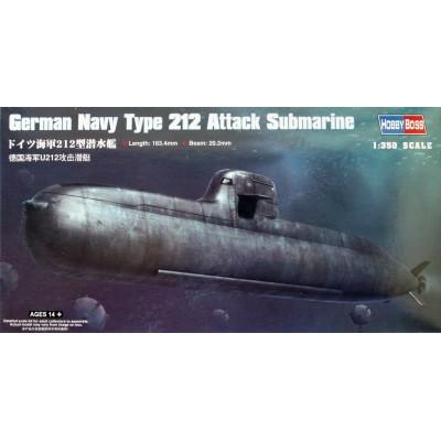SUBMARINO TYPE 212 (Alemania) 1/350