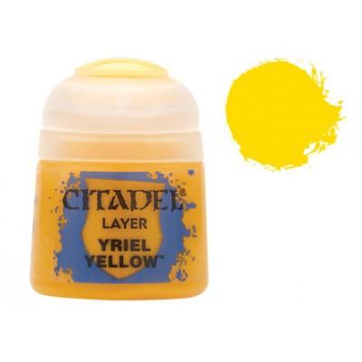 PINTURA ACRILICA LAYER YRIEL YELLOW (12 ml)