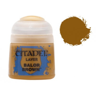 PINTURA ACRILICA BALOR BROWN (12 ml) GAMES WORKSHOP 22-43