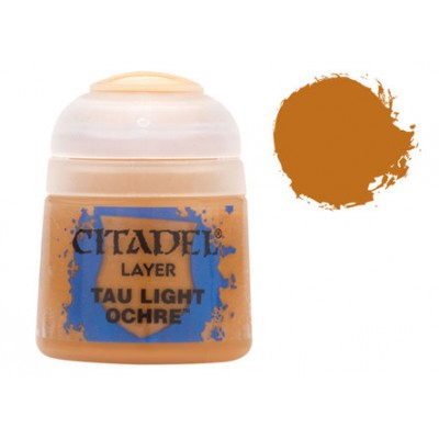 PINTURA ACRILICA LAYER TAU LIGHT OCHRE (12 ml)