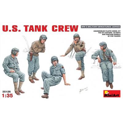 TRIPULACION DE CARRO U.S. ARMY
