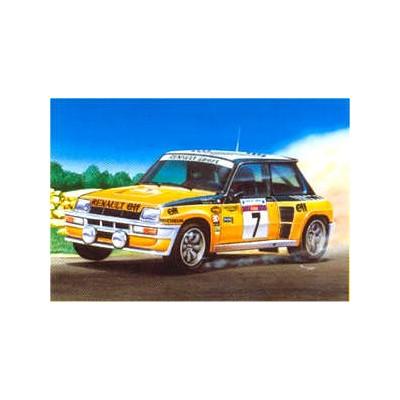 RENAULT R5 TURBO (Rally de Corcega 1982) 1/24 - Heller 80717