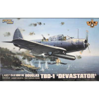 DOUGLAS TBD-1 DEVASTATOR 1/48 - GREAT WALL HOBBY L4807