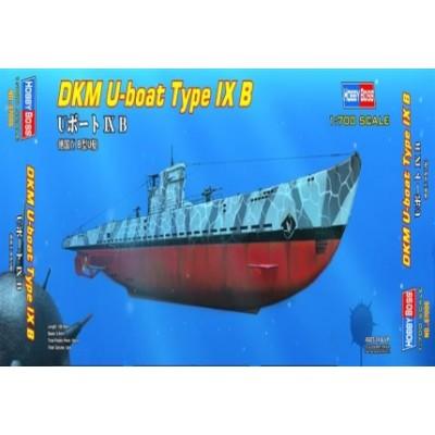 SUBMARINO TIPO IX B -Escala 1/700- Hobby Boss 87006