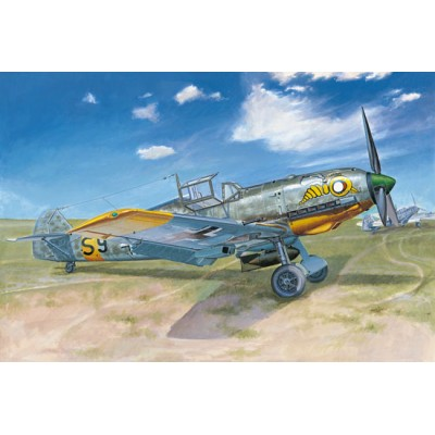 MESSERSCHMITT Bf-109 E-7 1/32