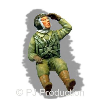 PILOTO JAPONES WWII 1/48 RESINA