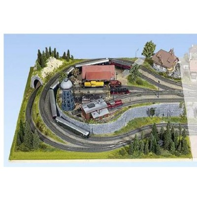 TOPORAMA: EXTENSION LATERAL IZQUIERDO HEIDELBERG (1200 x 1000 x 225 mm) Escala H0