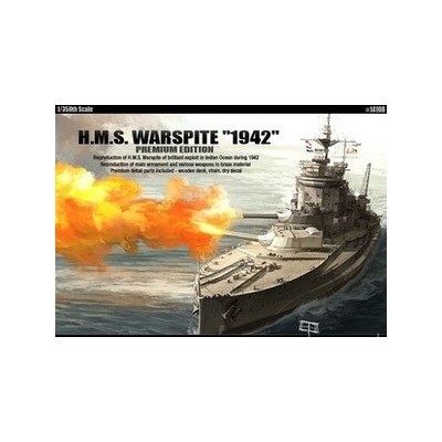 HMS Warspite-Edición Limitada Arte 25