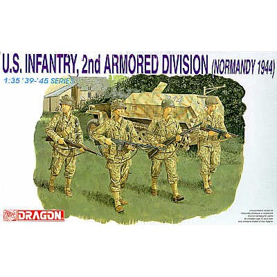 INFANTERIA U.S. 2ª DIVISION ACORAZADA (Normandia 1944)