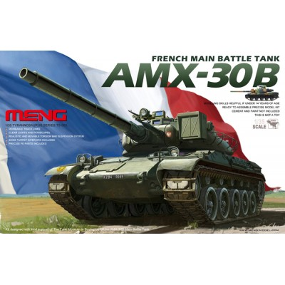 CARRO DE COMBATE AMX-30 B -Escala 1/35- Meng Model TS003