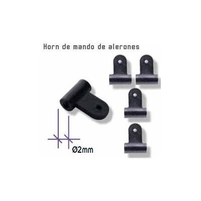 CUERNOS NYLON 2 mm (10 unidades)