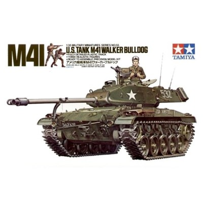 CARRO COMBATE M-41 WALKER BULLDOG -Escala 1/35- Tamiya 35055